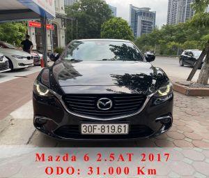 Xe Mazda 6 Premium 2.5AT 2017 - Đen