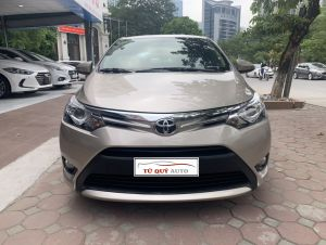 Xe Toyota Vios 1.5G 2016 - Vàng Cát