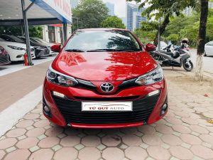 Xe Toyota Vios 1.5G 2018 - Đỏ