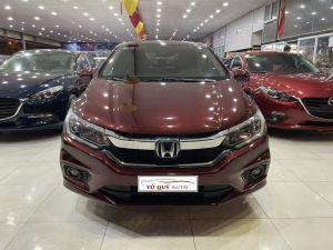 Xe Honda City 1.5CVT 2018 - Đỏ Mận