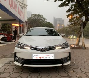Xe Toyota Corolla altis 1.8G 2018 - Trắng
