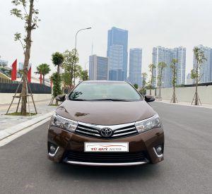 Xe Toyota Corolla altis 1.8G 2014 - Nâu