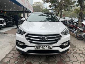 Xe Hyundai SantaFe 2.2CRDi 2017 - Trắng