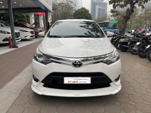 Xe Toyota Vios TRD 1.5AT 2018 - Trắng