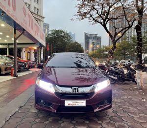 Xe Honda City 1.5AT 2016 - Đỏ Mận