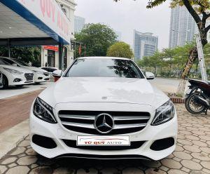 Xe Mercedes Benz C class C200 2.0AT 2018 - Trắng