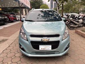 Xe Chevrolet Spark 1.0 LTZ 2014 - Xanh