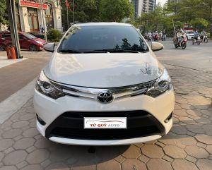 Xe Toyota Vios 1.5G 2018 - Trắng