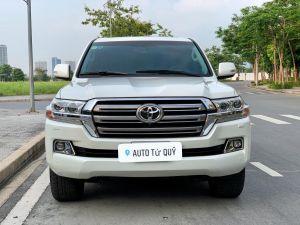 Xe Toyota Land Cruiser 4.6AT 2020 ĐK 2021 - Trắng