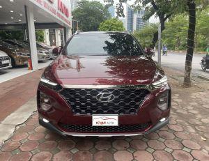 Xe Hyundai SantaFe 2.4 Premium 2021 - Đỏ Mận