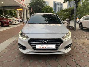 Xe Hyundai Accent 1.4AT 2019 - Trắng
