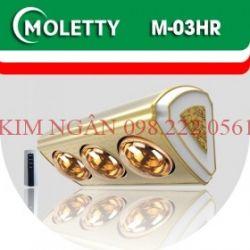 Đèn Sưởi Nhà Tắm Moletty M-3HR
