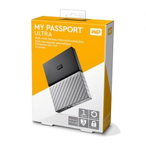 WD My Passport Ultra 3TB WDBFKT0030BGY - Black Gray