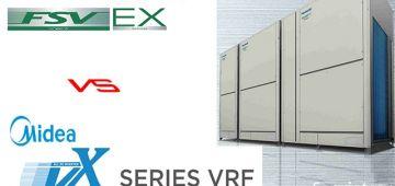 So sánh điều hòa trung tâm Midea và Panasonic VRF