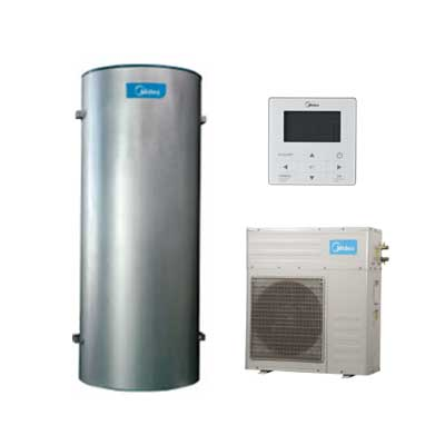 Máy nước nóng trung tâm Heatpump Midea RSJF-32/CN1-C 100~300 lít