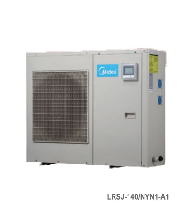 Máy nước nóng trung tâm Heatpump cho bể bơi Midea LRSJ-140/NYN1-A1