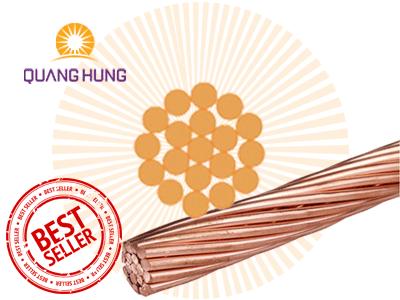 Dây Cáp Đồng Trần M70