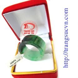 Natural Jadeite Ring For Men