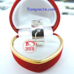 Nhẫn ngón chân bạc  đẹp-TSVN