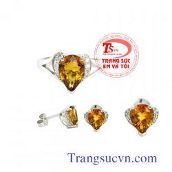 Trang sức bộ vàng tây  đẹp-TSVN