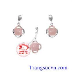 Trang sức thạch anh hồng đẹp-TSVN