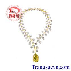 Trang sức Vàng tây sapphire vàng sang trọng