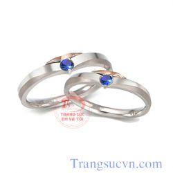 Nhẫn cưới sapphire