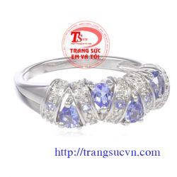 Nhẫn nữ topaz đẹp TSVN