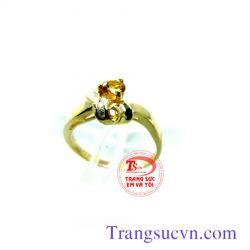 Nhẫn nữ sapphire vàng đẹp  TSVN
