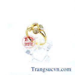 Nhẫn vàng tây nữ  đẹp