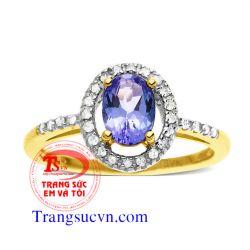 Nhẫn đá quý sapphire đẹp tuyệt