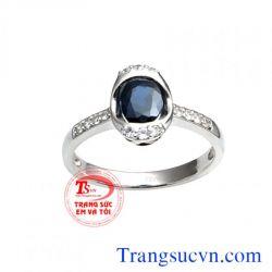 Nhẫn nữ sapphire việt nam đẹp