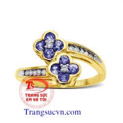 Nhẫn sapphire đẹp-nhẫn nữ