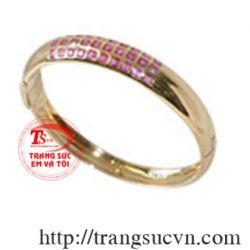 vòng tay vàng 10k + đá quý