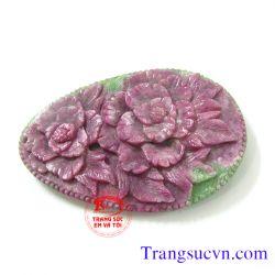 Anyolite-Zoisite hoa đẹp