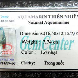 Aquamarine thiên nhiên TSVN