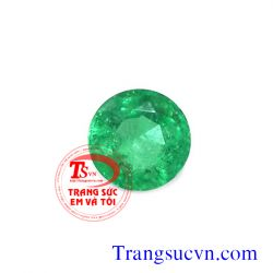 Emerald tròn facet TSVN