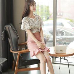 Áo sơ mi nữ Hàn Quốc Fiona m2014