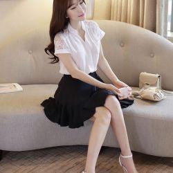Áo sơ mi nữ Hàn Quốc Fiona m2050