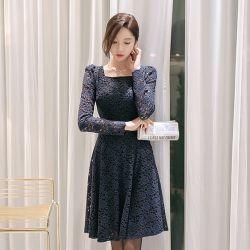 Váy liền thân Styleonme Hàn Quốc 4553