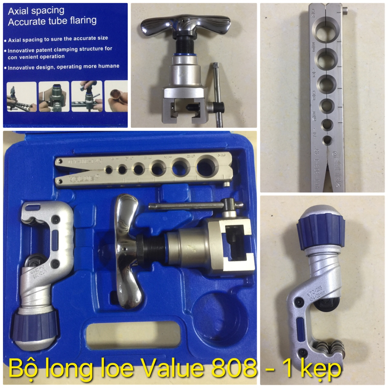Bộ Long Loe Value 808 1 kẹp