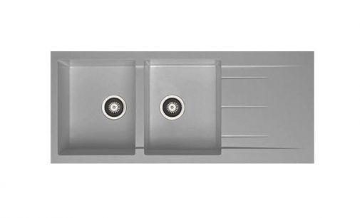 Chậu Rửa Hafele HS-G11650 màu Iron grey