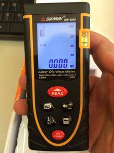 Máy đo khoảng cách bằng laser SNDWAY