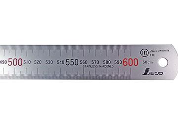 Thước lá shinwa 600mm 14036