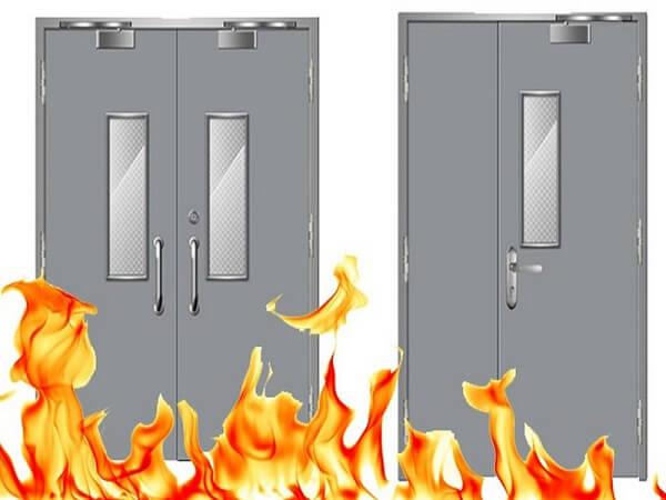 Cửa chống cháy nên lắp đặt ở đâu