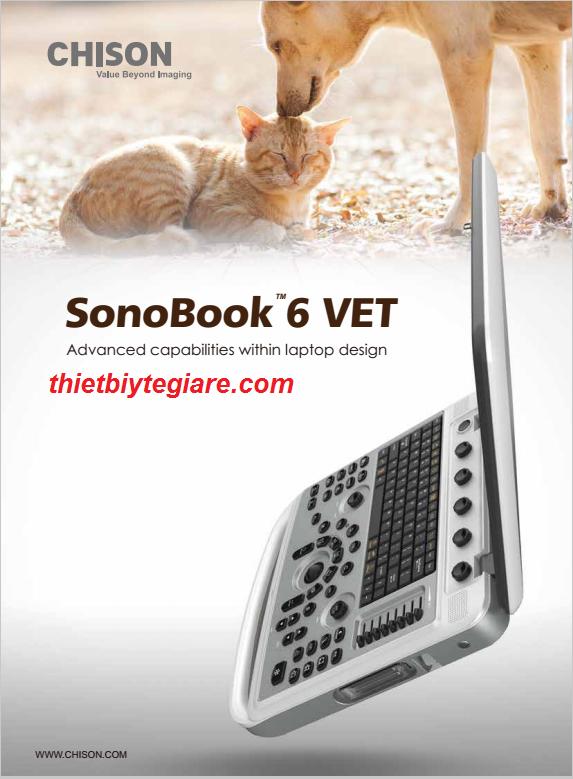 Máy siêu âm động vật Chison SonoBook 6 VET. . Nhiều ưu đãi cho Phòng khám mới mở. Tặng quà đi kèm: máy in/ bàn để máy siêu âm/ máy tính.... miễn phí lắp đặt vận chuyển tận nơi trong toàn quốc