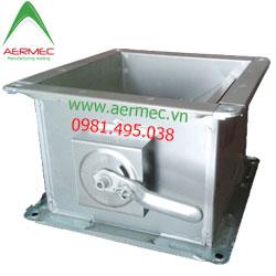 Van đường ống gió tay gạt (D-VCD) Volume Controll Damper
