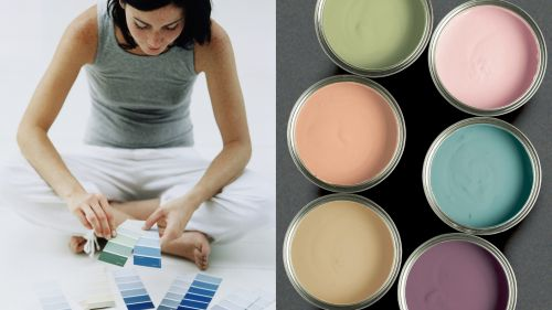 Hướng dẫn sơn một căn phòng khó xử lý trong thời gian siêu nhanh.