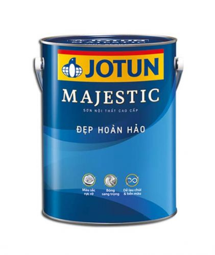 Giá sơn Jotun Majestic bao nhiêu hiện nay?