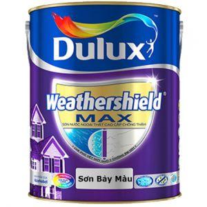 Sơn Ngoại thất Dulux Weathershield MAX chống thấm
